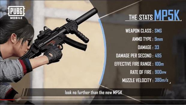 PUBG Mobile: Đây là mọi thông tin bạn cần biết về khẩu MP5-K và ông hoàng đường tuyết Zima - Ảnh 1.