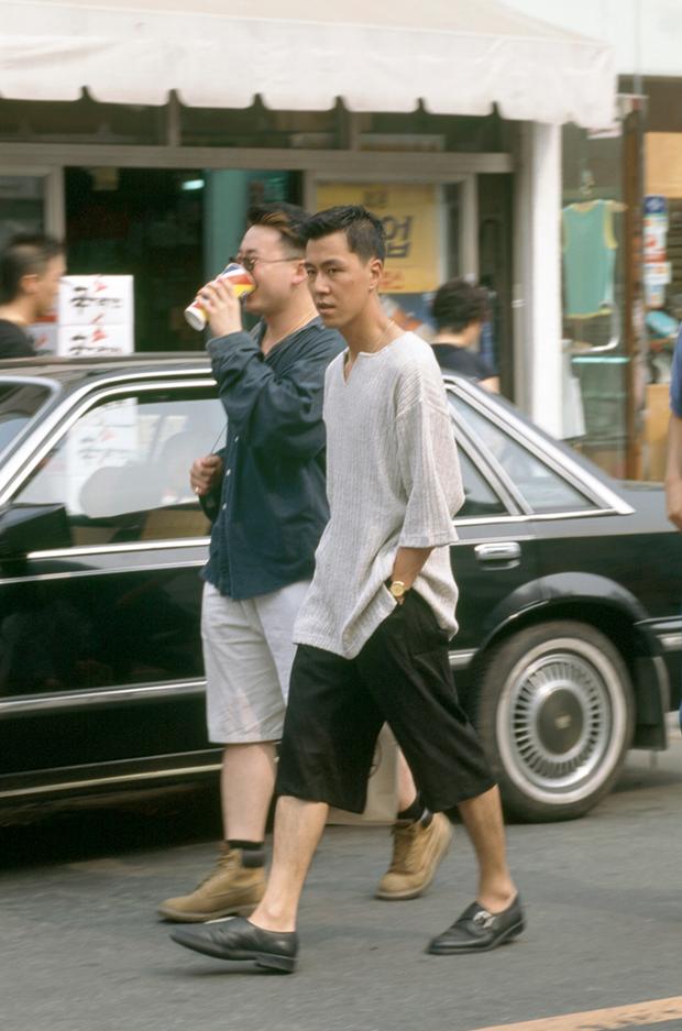 Nam thanh nữ tú xứ Hàn những năm 90: Lên đồ chặt chém, bắt trend nhanh khiến thế hệ bây giờ cũng phải ngả mũ - Ảnh 12.