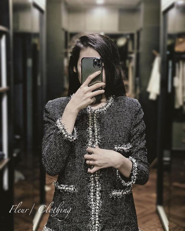 Áo khoác vải tweed: Các nàng sang chảnh nhất showbiz Việt - Hàn đều đang chết mê chết mệt, còn bạn thì sao? - Ảnh 13.