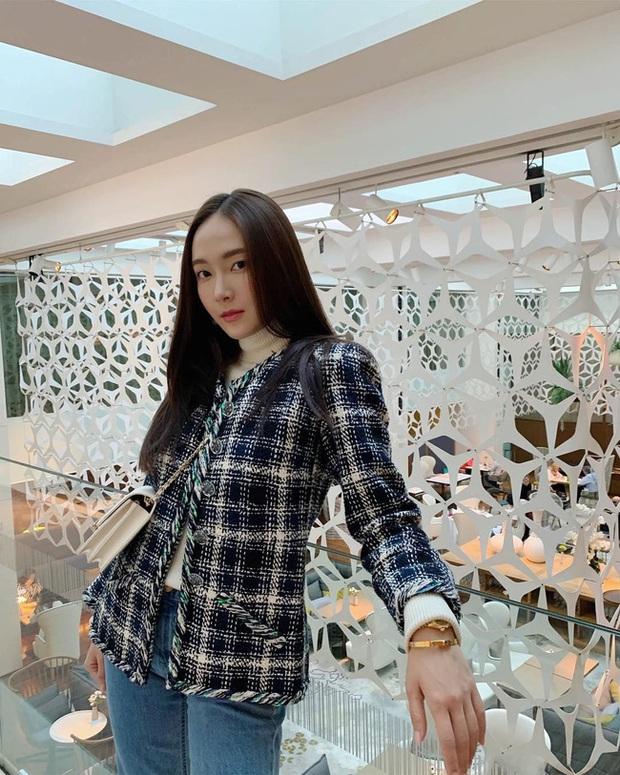 Áo khoác vải tweed: Các nàng sang chảnh nhất showbiz Việt - Hàn đều đang chết mê chết mệt, còn bạn thì sao? - Ảnh 16.