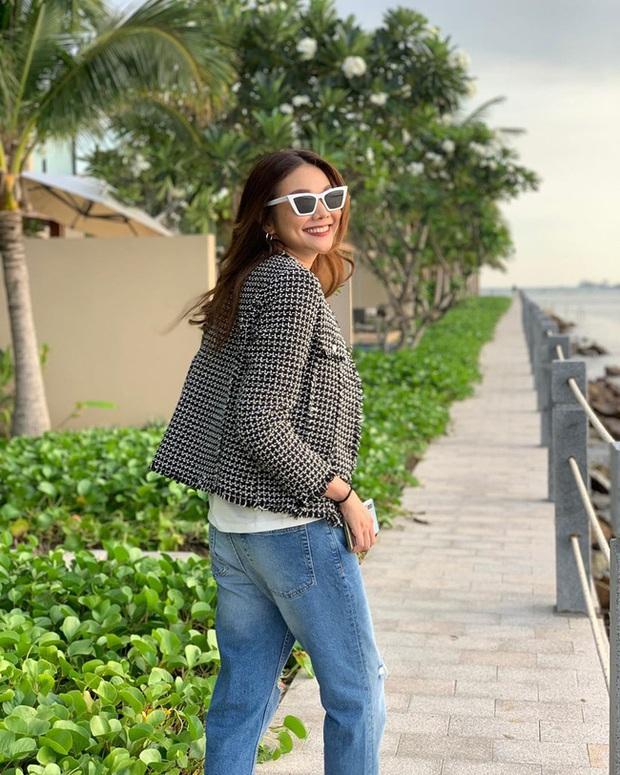 Áo khoác vải tweed: Các nàng sang chảnh nhất showbiz Việt - Hàn đều đang chết mê chết mệt, còn bạn thì sao? - Ảnh 19.