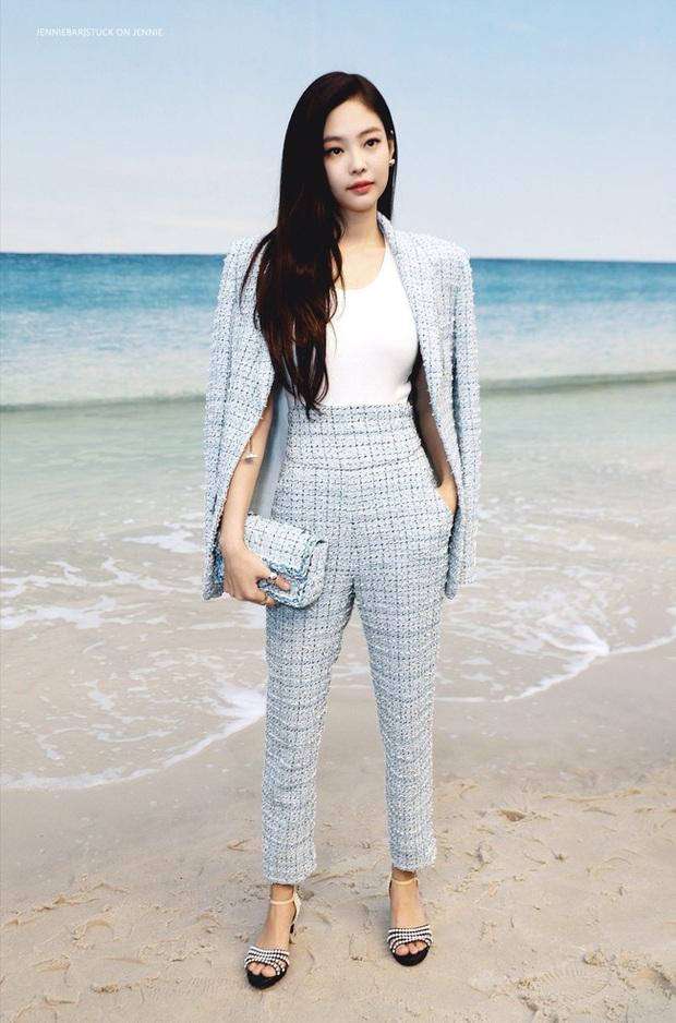 Áo khoác vải tweed: Các nàng sang chảnh nhất showbiz Việt - Hàn đều đang chết mê chết mệt, còn bạn thì sao? - Ảnh 22.