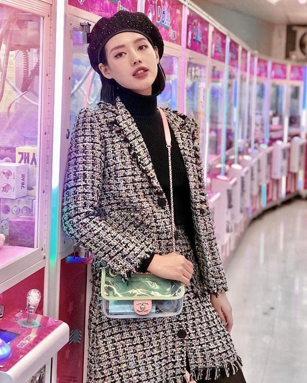Áo khoác vải tweed: Các nàng sang chảnh nhất showbiz Việt - Hàn đều đang chết mê chết mệt, còn bạn thì sao? - Ảnh 24.
