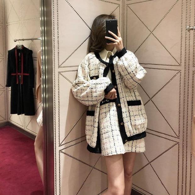 Áo khoác vải tweed: Các nàng sang chảnh nhất showbiz Việt - Hàn đều đang chết mê chết mệt, còn bạn thì sao? - Ảnh 26.