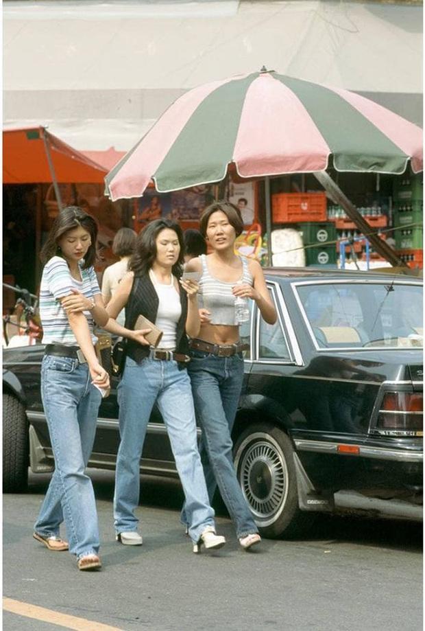 Nam thanh nữ tú xứ Hàn những năm 90: Lên đồ chặt chém, bắt trend nhanh khiến thế hệ bây giờ cũng phải ngả mũ - Ảnh 4.