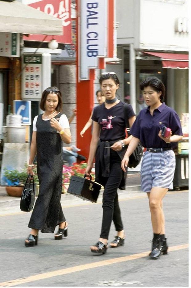 Nam thanh nữ tú xứ Hàn những năm 90: Lên đồ chặt chém, bắt trend nhanh khiến thế hệ bây giờ cũng phải ngả mũ - Ảnh 10.