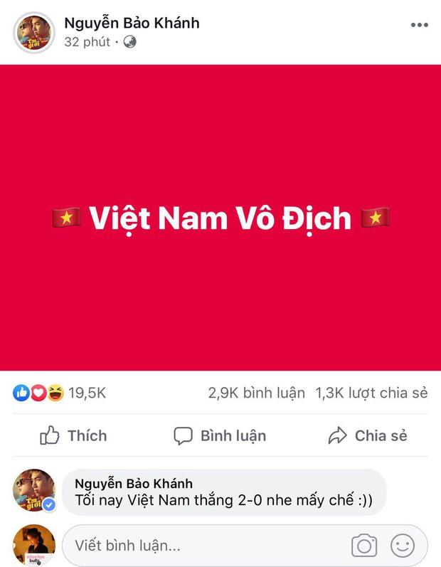 Dàn nghệ sĩ Việt hào hứng, đồng loạt cổ vũ đội tuyển Việt Nam dành chiến thắng trước giờ G gặp UAE! - Ảnh 3.