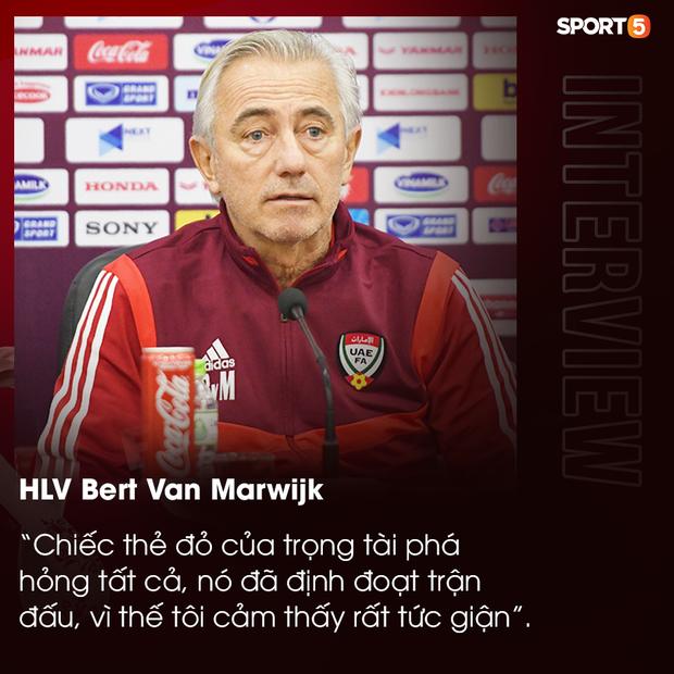 HLV UAE bức xúc sau trận đấu: Thẻ đỏ đã phá hỏng mọi thứ, chúng tôi không xứng đáng thua - Ảnh 1.