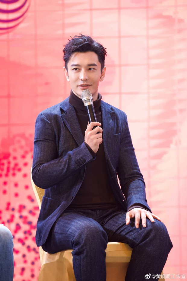 Huỳnh Hiểu Minh gây sốt với hình ảnh 42 tuổi cực phong độ và điển trai, hoàn toàn ăn đứt loạt đàn em tại sự kiện - Ảnh 12.