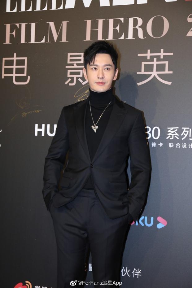 Huỳnh Hiểu Minh gây sốt với hình ảnh 42 tuổi cực phong độ và điển trai, hoàn toàn ăn đứt loạt đàn em tại sự kiện - Ảnh 3.