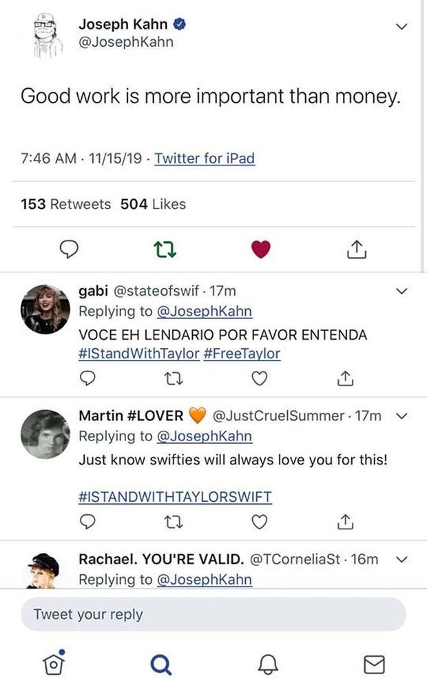 Hollywood dậy sóng, dàn sao đồng loạt lên tiếng ủng hộ Taylor Swift khi Nghệ sĩ của thập kỉ không thể trình diễn những ca khúc của chính mình! - Ảnh 4.