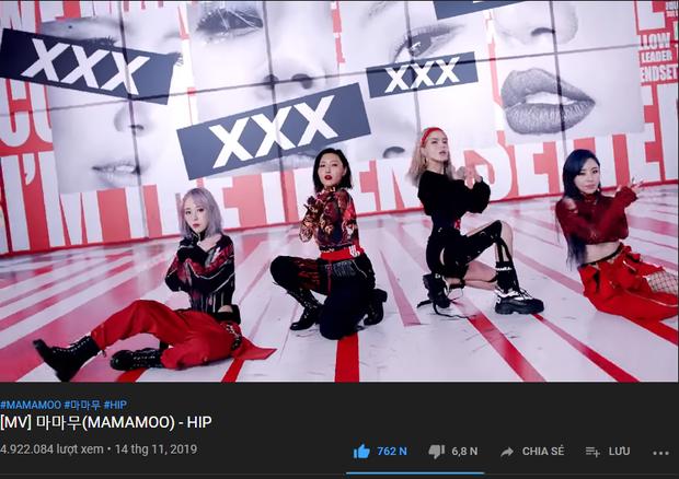MAMAMOO sau 24 giờ trở lại: Thành tích tầm trung, có mảng vẫn vượt được Red Velvet lẫn IZ*ONE, lọt top cùng TWICE và BLACKPINK - Ảnh 3.