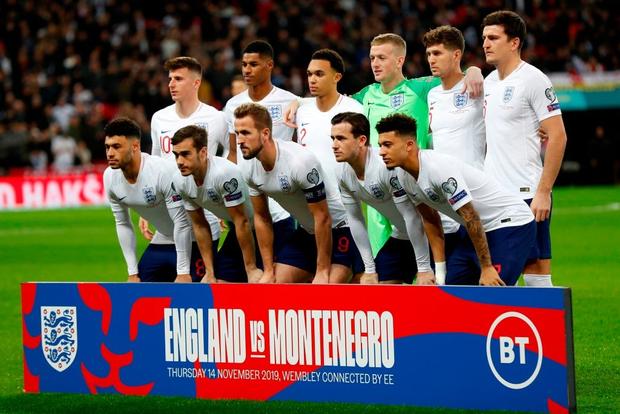 Vùi dập đối thủ tới 7 bàn không gỡ, tuyển Anh chính thức giành vé dự Euro 2020 - Ảnh 1.