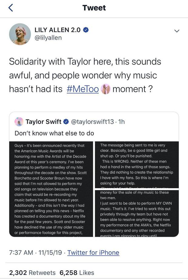 Nóng: Taylor Swift đăng tâm thư cầu cứu trên tất cả mạng xã hội vì không được phép biểu diễn ca khúc của chính mình! - Ảnh 5.