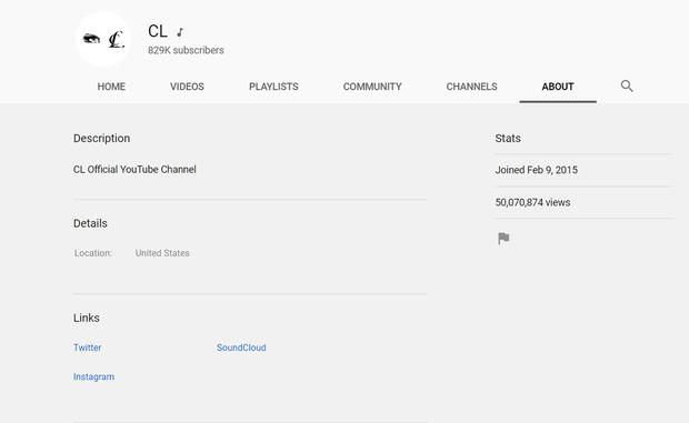 Tưởng YG tuyệt tình đến mức xóa sạch kênh Youtube của CL sau khi rời đi, ai ngờ công ty chỉ tạm ẩn rồi lại trả nguyên chính chủ - Ảnh 2.