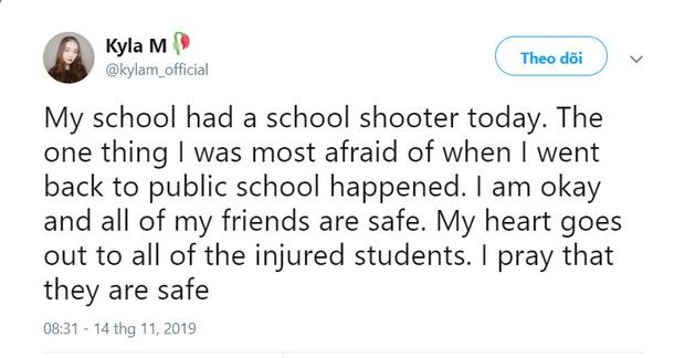 Chấn động vụ nổ súng làm 2 người tử vong tại trường trung học Mỹ, nữ idol nhóm PRISTIN được xác nhận là học sinh ở đây - Ảnh 3.