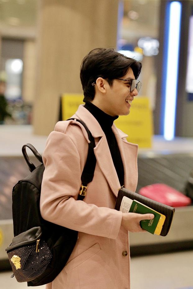 Noo Phước Thịnh bảnh bao tại sân bay Hàn, sẵn sàng bùng nổ cùng PSY, BoA và dàn sao Kbiz trong lễ trao giải khủng - Ảnh 2.