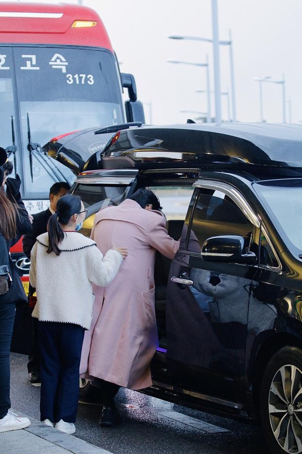 Noo Phước Thịnh bảnh bao tại sân bay Hàn, sẵn sàng bùng nổ cùng PSY, BoA và dàn sao Kbiz trong lễ trao giải khủng - Ảnh 9.