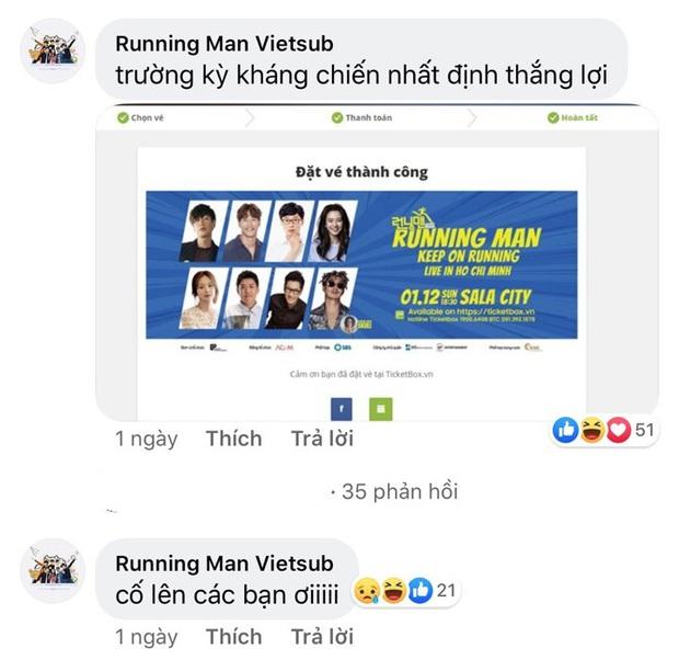 Fan Việt rục rịch mua vé lập team, chuẩn bị quà để chào đón 8 thành viên Running Man - Ảnh 2.