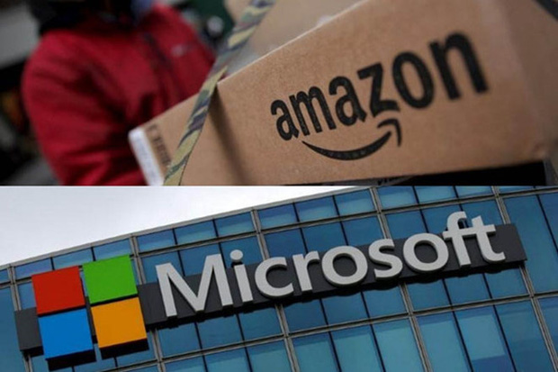 """Bị Microsoft nẫng tay trên hợp đồng trị giá 10 tỷ USD, Amazon lập tức """"phản đòn"""" - Ảnh 1."""