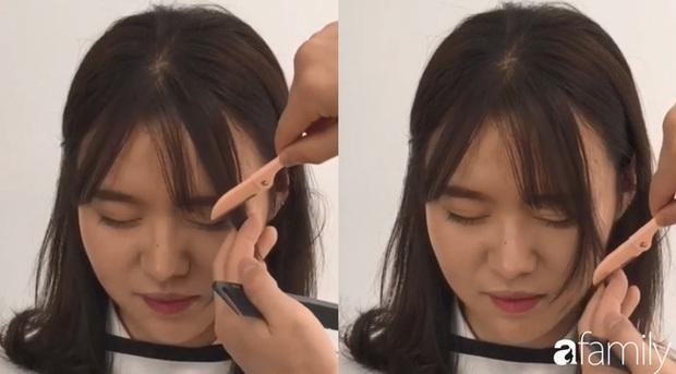 Để không hết hồn khi cắt tóc mái, hãy ghim ngay 3 cách cực hay này - Ảnh 2.