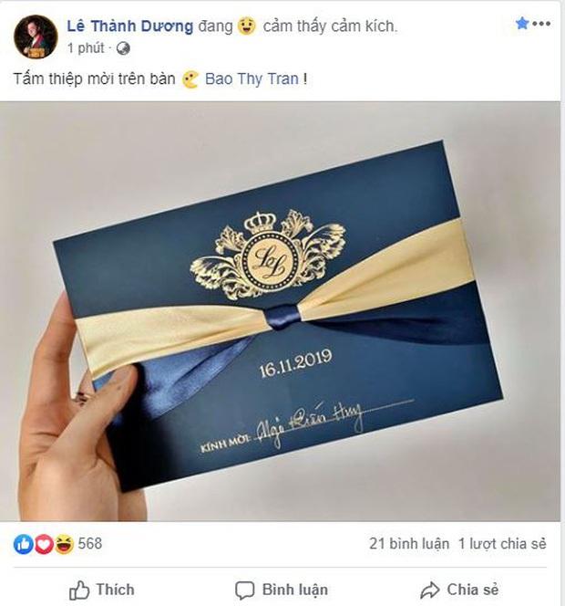 Thêm nhiều nghệ sĩ xác nhận dự đám cưới Bảo Thy: Không chỉ duy nhất 5 sao Việt được mời! - Ảnh 5.