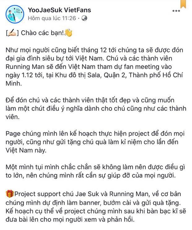 Fan Việt rục rịch mua vé lập team, chuẩn bị quà để chào đón 8 thành viên Running Man - Ảnh 5.