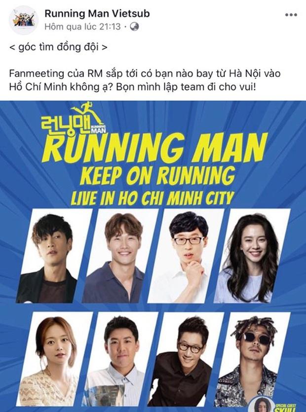 Fan Việt rục rịch mua vé lập team, chuẩn bị quà để chào đón 8 thành viên Running Man - Ảnh 6.