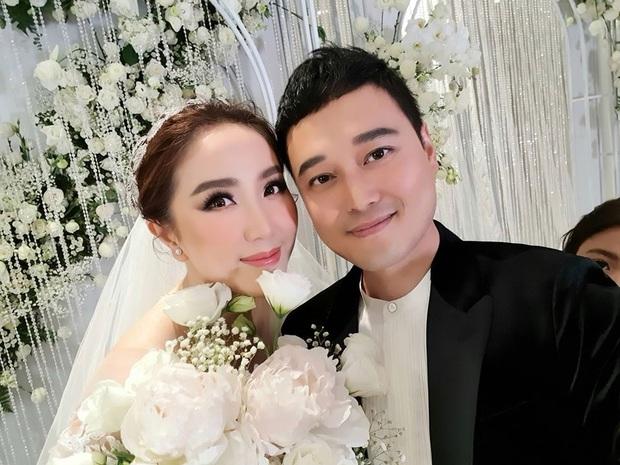 Dàn sao Vbiz trong hôn lễ của Bảo Thy: MiA sánh đôi cùng ông xã, Quang Vinh gây chú ý với nhan sắc hack tuổi - Ảnh 3.
