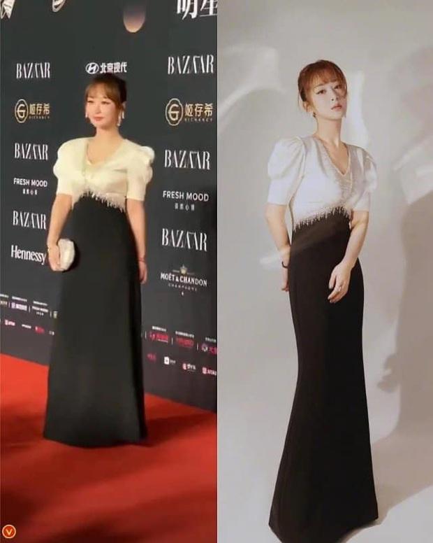 Ảnh thực tế và photoshop của Dương Tử tại sự kiện: Bị mỉa mai vì chỉnh ảnh quá đà chẳng khác siêu mẫu Victorias Secret - Ảnh 5.