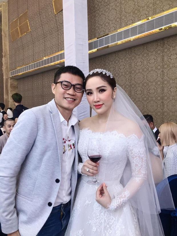 Cận cảnh 3 bộ váy cưới của Bảo Thy: Bộ nào cũng ren hoa yêu kiều, váy cưới chính cực đồ sộ lộng lẫy - Ảnh 8.