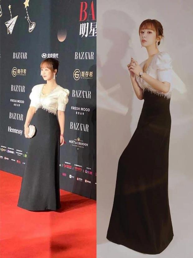 Ảnh thực tế và photoshop của Dương Tử tại sự kiện: Bị mỉa mai vì chỉnh ảnh quá đà chẳng khác siêu mẫu Victorias Secret - Ảnh 6.