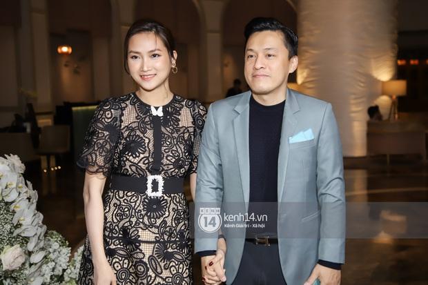 Hồ Hoài Anh - Lưu Hương Giang sánh đôi cực tình, cùng dàn sao đình đám Vbiz đổ bộ đám cưới Giang Hồng Ngọc - Ảnh 9.