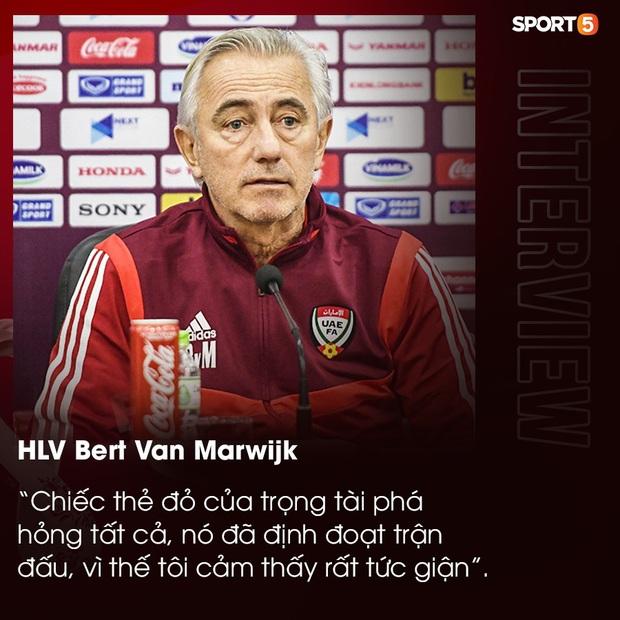 Trở về UAE, HLV van Marwijk vẫn chưa hết bức xúc về tấm thẻ đỏ ở trận thua Việt Nam: Nếu có VAR mọi thứ đã khác - Ảnh 1.