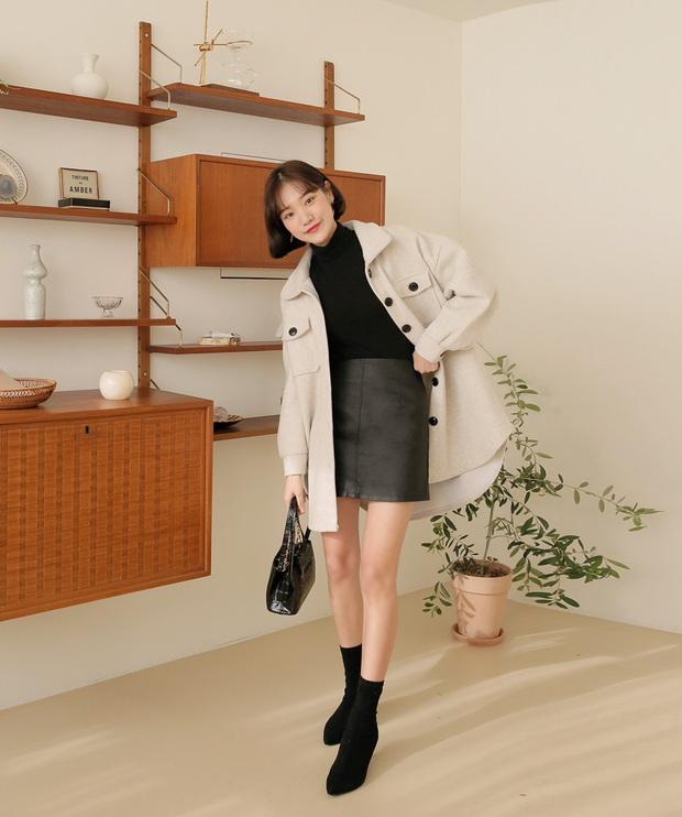 Hết Yoona rồi đến Hà Tăng ưu ái diện chân váy da, bạn sao có thể kìm lòng trước item sang chảnh hào nhoáng này? - Ảnh 15.
