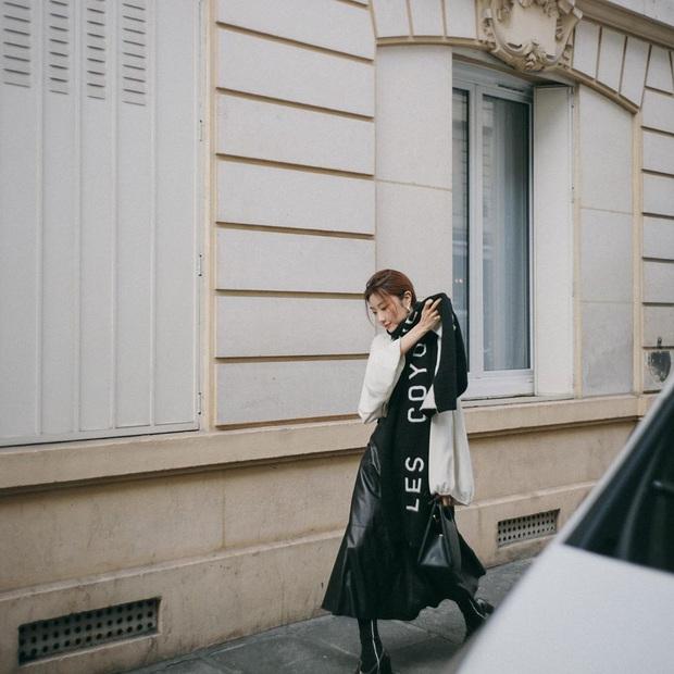 Hết Yoona rồi đến Hà Tăng ưu ái diện chân váy da, bạn sao có thể kìm lòng trước item sang chảnh hào nhoáng này? - Ảnh 8.