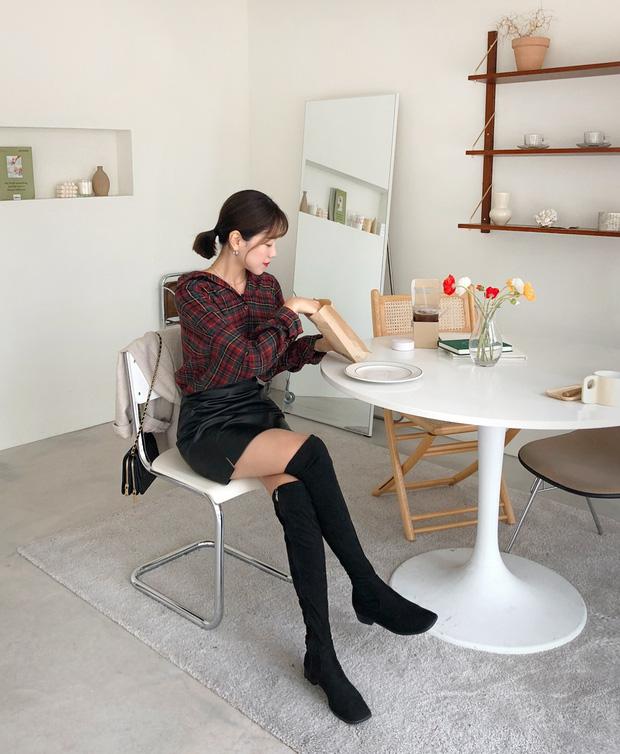 Hết Yoona rồi đến Hà Tăng ưu ái diện chân váy da, bạn sao có thể kìm lòng trước item sang chảnh hào nhoáng này? - Ảnh 9.