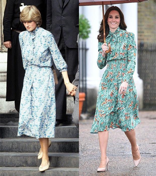 Diện đồ tím chuẩn trend, Công nương Kate lại khiến dân tình nhớ đến hình ảnh của mẹ chồng Diana - Ảnh 9.