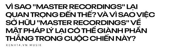 Bản thu Master là gì mà Taylor Swift cầu cứu tranh chấp, Rihanna Jay Z sứt đầu mẻ trán mới giành được, còn loạt nghệ sĩ lao đao sự nghiệp? - Ảnh 2.