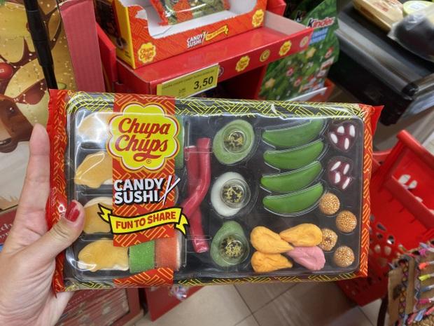 """Món kẹo sushi của Chupa Chups đang """"gây lú"""" trên diện rộng: trông cute nhưng chẳng lẽ ăn vào có vị… hải sản? - Ảnh 1."""