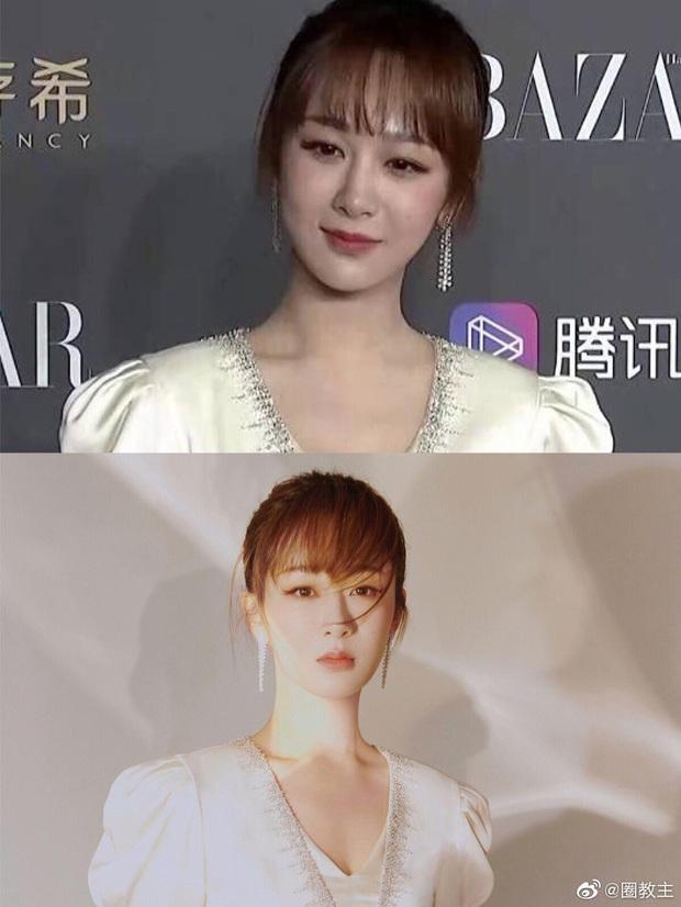 Ảnh thực tế và photoshop của Dương Tử tại sự kiện: Bị mỉa mai vì chỉnh ảnh quá đà chẳng khác siêu mẫu Victorias Secret - Ảnh 7.