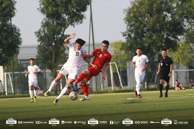 Hòa Myanmar ở trận đấu kín cuối cùng, U22 Việt Nam duy trì thành tích bất bại trước khi bước vào SEA Games 30 - Ảnh 6.
