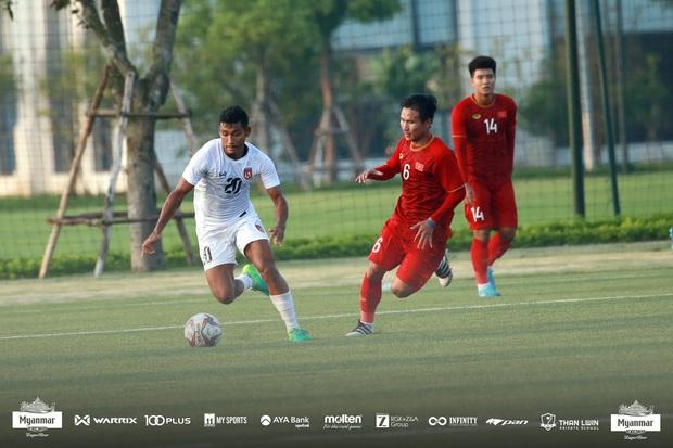 Hòa Myanmar ở trận đấu kín cuối cùng, U22 Việt Nam duy trì thành tích bất bại trước khi bước vào SEA Games 30 - Ảnh 4.