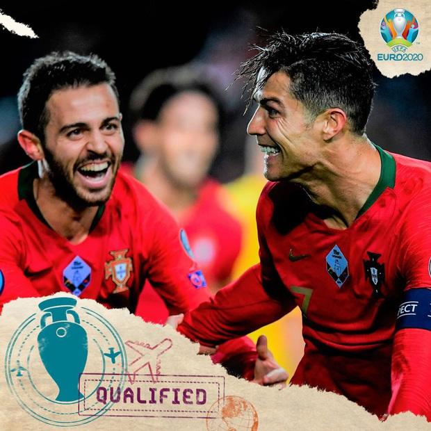 Ronaldo ghi bàn thắng dễ bậc nhất trong sự nghiệp, Bồ Đào Nha chính thức có vé đến thẳng Euro 2020 - Ảnh 9.