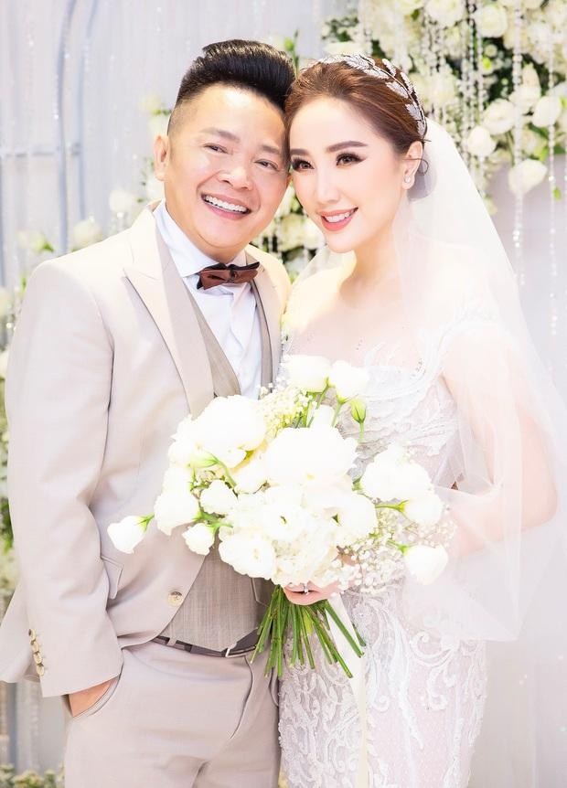 Loạt ảnh nét căng bên trong đám cưới Bảo Thy cùng tiết lộ của cô dâu: Hạnh phúc 10 ngày không ngủ được, 3 ngày trước sốt 42 độ - Ảnh 4.