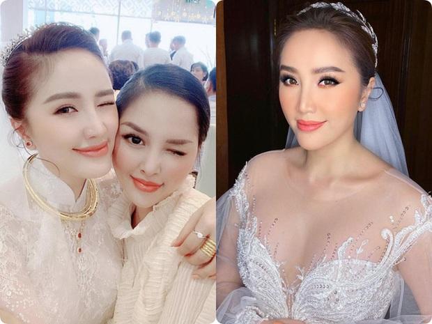 Cô dâu Bảo Thy: 2 ngày cùng tông makeup nhưng lễ rước dâu dịu dàng bao nhiêu thì đám cưới lại sắc sảo lộng lẫy bấy nhiêu - Ảnh 1.