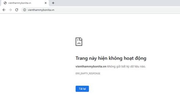 Nguyễn Hoài Thương TPBank bị khởi tố, thẩm mỹ viện Bonita bất ngờ khóa website - Ảnh 1.