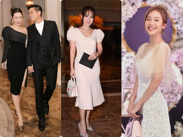 Giữa cả dàn khách mời diện đúng chuẩn dress code tại lễ cưới Giang Hồng Ngọc, một mình Trang Pháp diện đồ lệch tông - Ảnh 2.