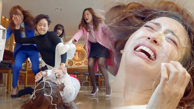 3 màn cấu xé tơi tả của hội mĩ nhân màn ảnh châu Á: Hoa hậu Minh Tú chưa hăng máu bằng cô nàng chuyển giới Nira - Ảnh 12.