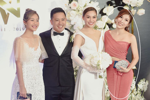 Giữa cả dàn khách mời diện đúng chuẩn dress code tại lễ cưới Giang Hồng Ngọc, một mình Trang Pháp diện đồ lệch tông - Ảnh 5.